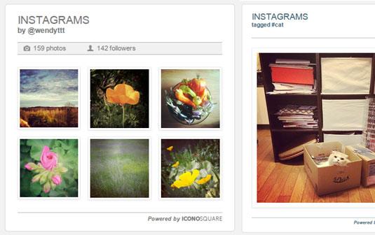Instagram Image Gallery